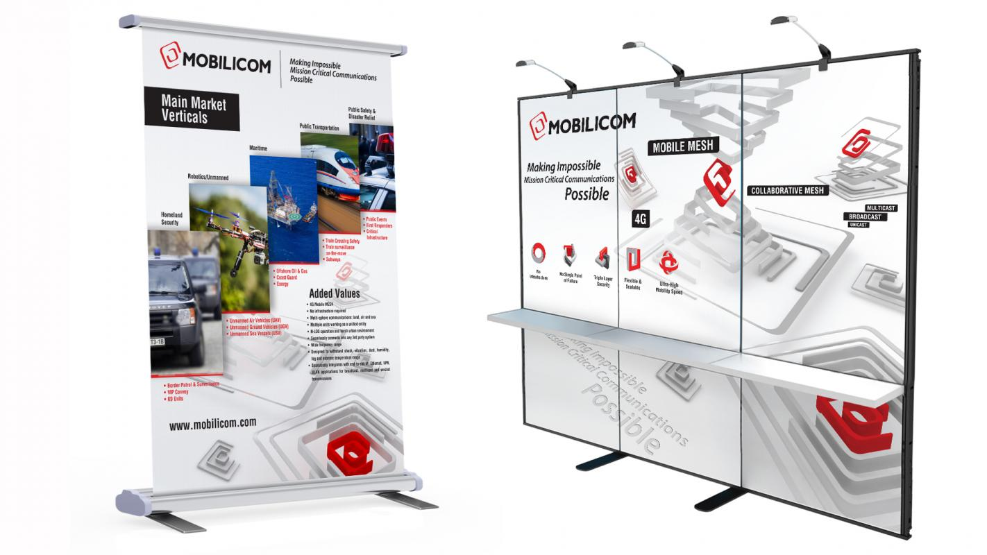 Pop-up and Roll-up design